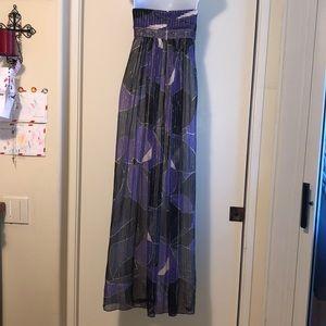 BCBG MAXAZRIA Silk Gown, Size 8,Pristine Condition